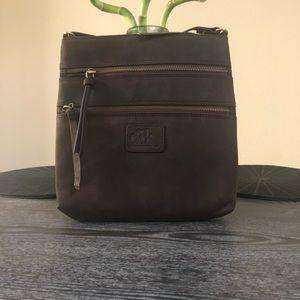 Oak Leathers Brown Leather Purse
